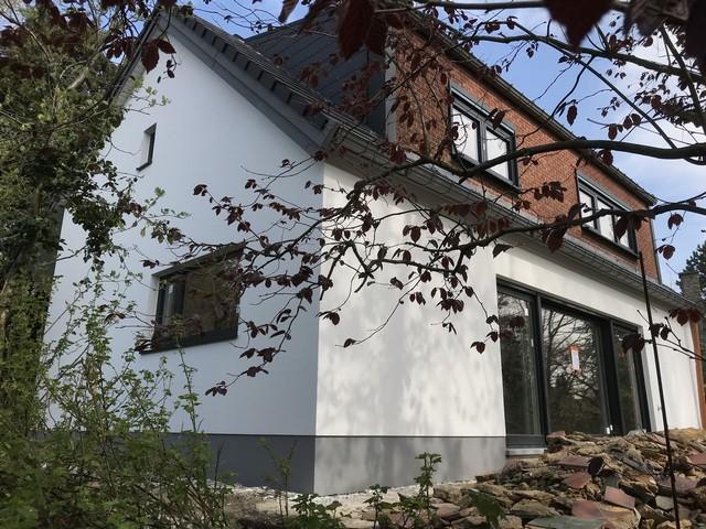 crépis façade Liège, Oupeye
